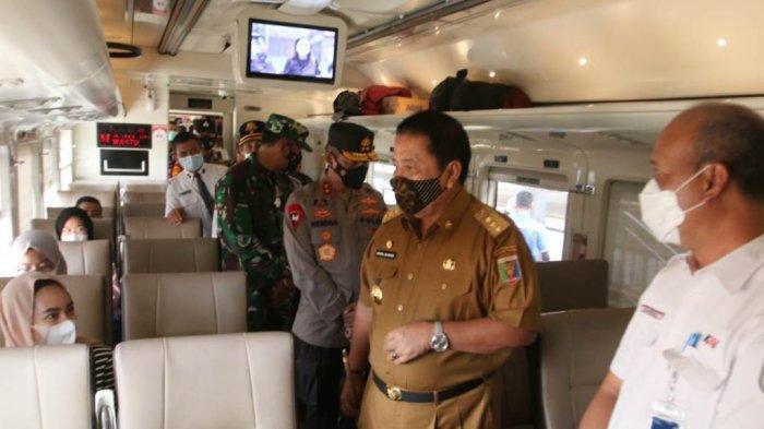 BREAKING NEWS Gubernur Arinal Pantau Persiapan Larangan Mudik di Lampung