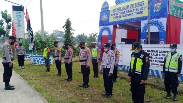Larangan Mudik, Polres Lampung Timur: Selain Alasan Mendesak Tidak Boleh Keluar Daerah