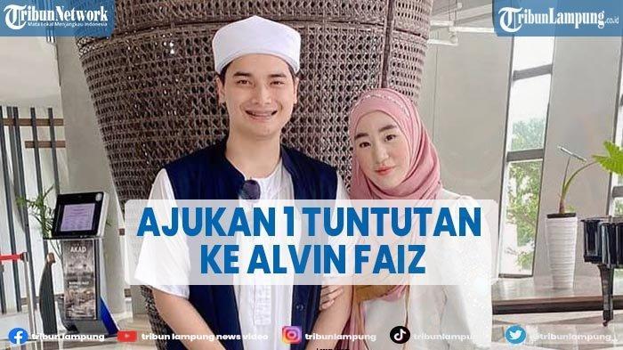 Larissa Chou Ajukan Satu Permintaan ke Alvin Faiz saat Proses Sidang Perceraian