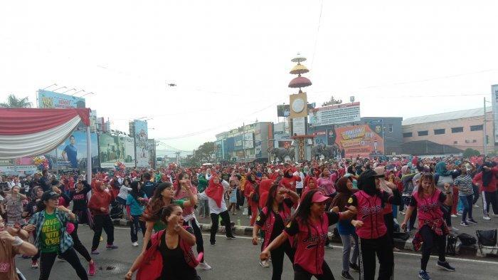 Launching Maskot Pilkada 2020 KPU Kota Bandar Lampung Meriah