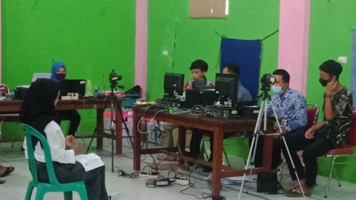 Disdukcapil Tanggamus Gelar Layanan Keliling di Kecamatan Talang Padang