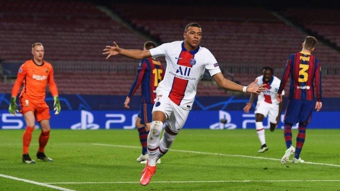 Leg kedua PSG vs Barcelona
