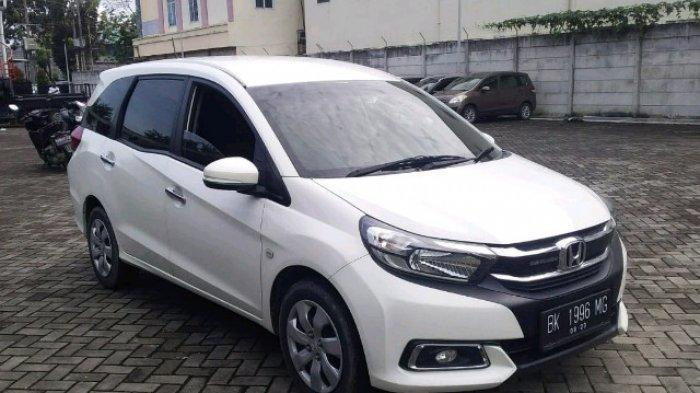 Lelang Mobil Medan 2021, Jadwal Lelang dan Daftar Mobil Bekas, Ada Honda Mobilio MT Tahun 2018