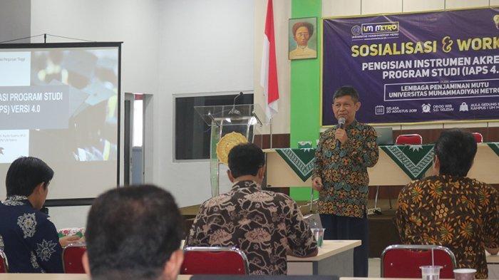Lembaga Penjamin Mutu UM Metro Sosialisasikan AIPS 4.0