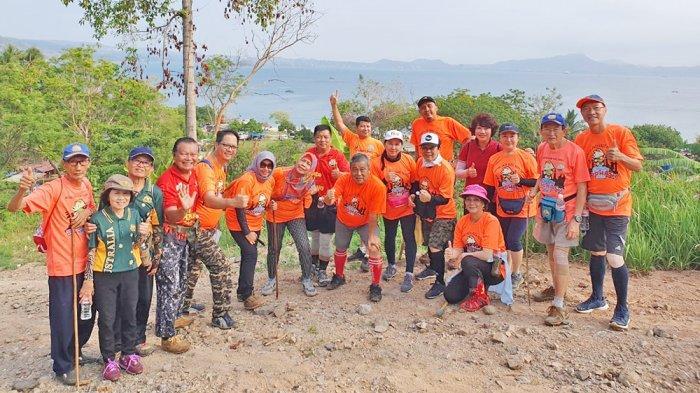 Lewati Darat, Mendaki Bukit dan Seberangi Laut, LH3 Bertualang di Pantai Mutun