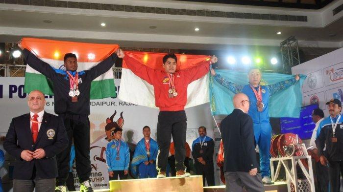 Lima Lifter Pringsewu Borong 20 Medali, Doni Pecahkan Rekor Asia