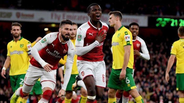 Liga Inggris Arsenal vs Norwich City, Arteta Terancam Kehilangan Jabatan di Emirates Stadium