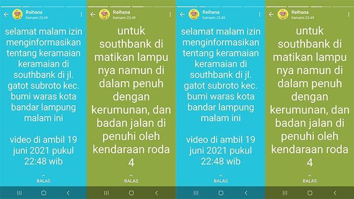 Lihat Cafe Ramai dalam Gelap, Reihana Minta Satgas Covid-19 Bandar Lampung Bertindak