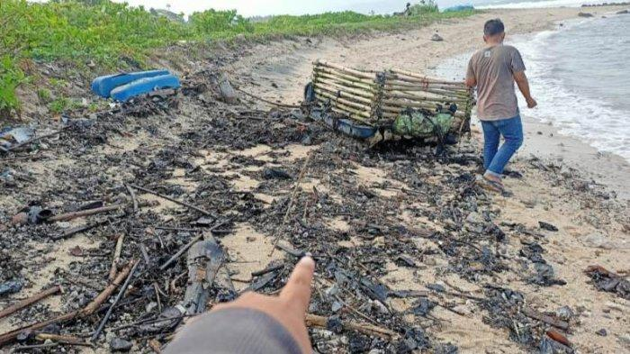 DLH Duga Limbah di Pantai Lampung Selatan adalah Aspal