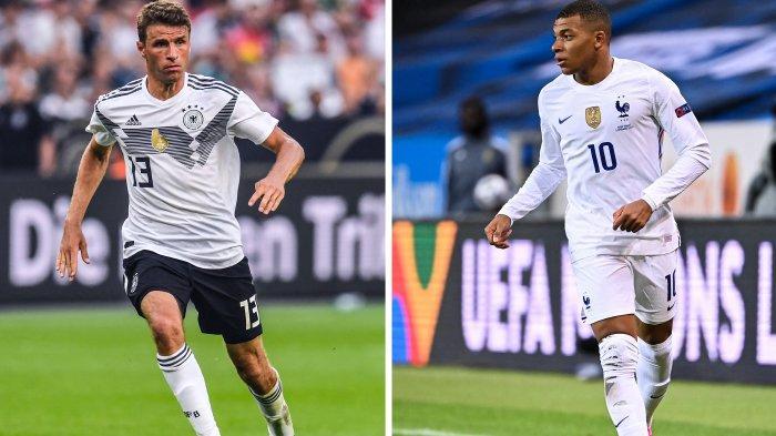 LINK LIVE Streaming Piala Eropa 2021 Prancis vs Jerman Hanya di Mola TV dan RCTI