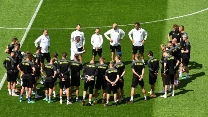 Ilustrasi, jadwal Euro 2020, Kroasia vs Ceko, Jumat 18 Juni 2021, dalam jadwal lanjutan pertandingan Grup D, berikut prediksi susunan pemain kedua tim.