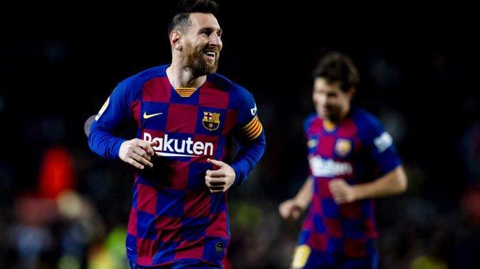 Hat-trick ke Gawang Celta Vigo, Messi Samai Rekor Ronaldo