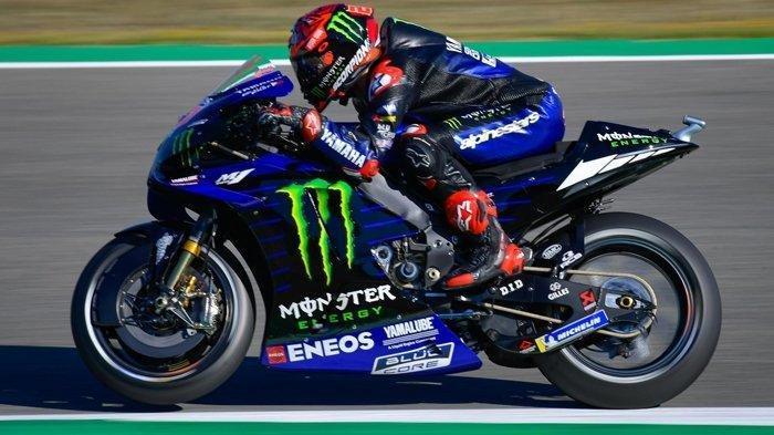 Live MotoGP Prancis 2021, Fabio Quartararo Ungkap Masalah Gagal Finish 10 Besar di Spanyol