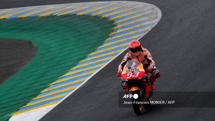 LIVE MotoGP Prancis 2021, Marc Marquez: Saya Tidak Kuat di Trek Manapun Saat Ini