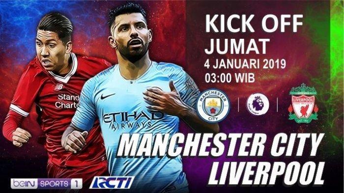 LIVE RCTI Man City Vs Liverpool Malam Ini Pukul 03.00 WIB - Guardiola Ragu, Klopp Anggap Biasa