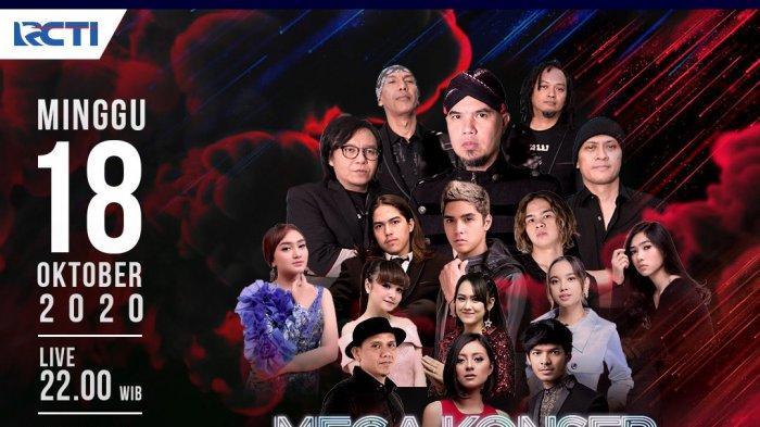 Live RCTI Mega Konser Dewa 19 Ft Ari Lasso Malam Ini