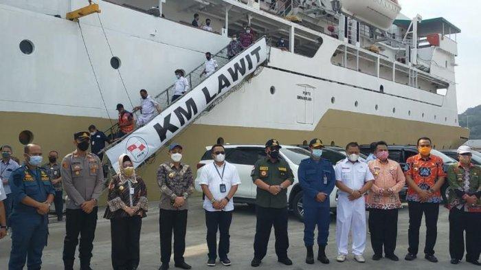 Gubernur Lampung Arinal Tinjau Fasilitas Isolasi Terpusat Pasien Covid-19 KM Lawit