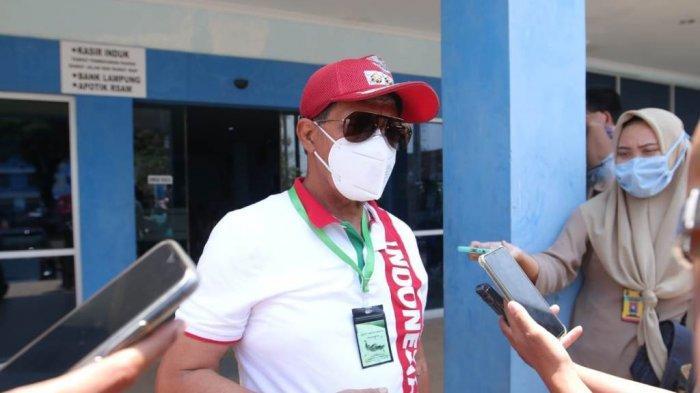 Loekman Djoyosoemarto saat ditemui di RSUDAM, Bandar Lampung, Senin (7/9/2020).