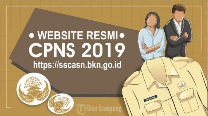 Peserta Lolos Seleksi CPNS 2019 di Lampung Sempat Terkendala Pengisian DRH pada Laman BKN