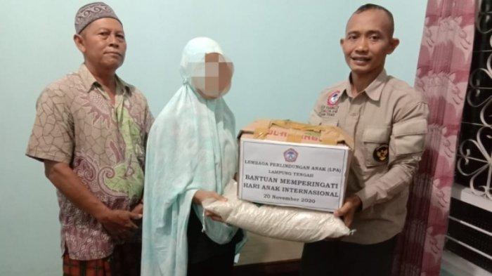 LPA Lampung Tengah Beri Bantuan Kepada 30 Anak Memerlukan Perlindungan Khusus