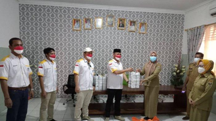 Peduli Covid, LPM Lampung Tengah Bantu Tiga Puskesmas
