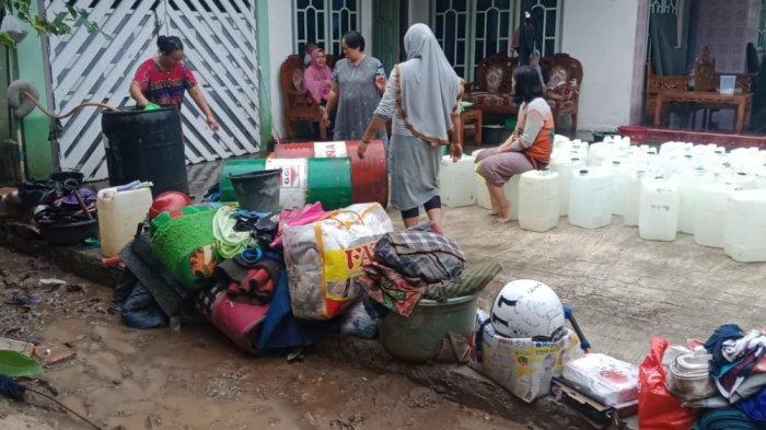 Korban Banjir di Bulok Tanggamus Tak Bisa Ganti Pakaian: Semuanya Basah