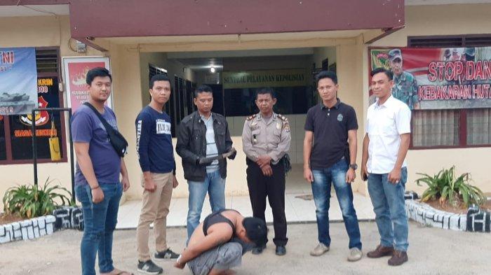 Lukai Leher Korban Pakai Golok, Warga Pesawaran Ditangkap Polisi
