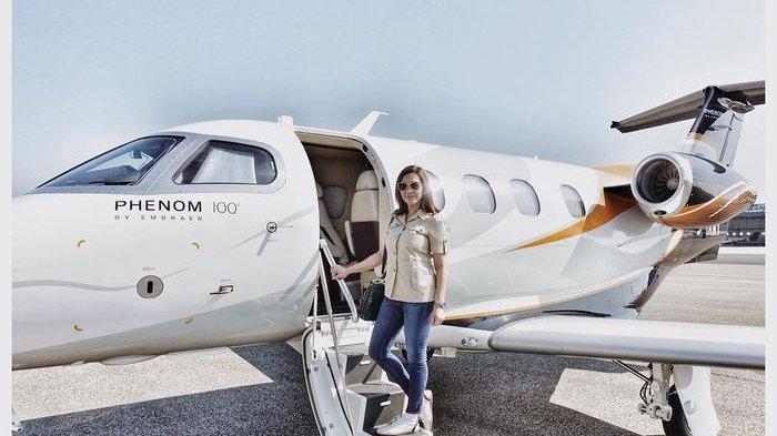 Pelesir ke Milan Naik Jet Pribadi, Maia Estianty Pakai Baju Safari, Segini Harganya