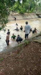 Main dengan Kakak di Irigasi, Bocah 4 Tahun di Metro Tewas Tenggelam