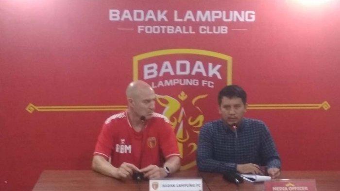 Manajemen Badak Lampung FC Berharap Pertandingan Liga 2 dan Liga 1 Tak Bersamaan