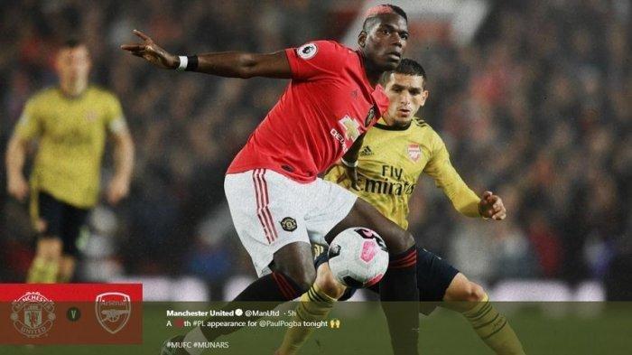 Kemenangan Manchester United atas Arsenal di Liga Inggris DibatalkanVAR