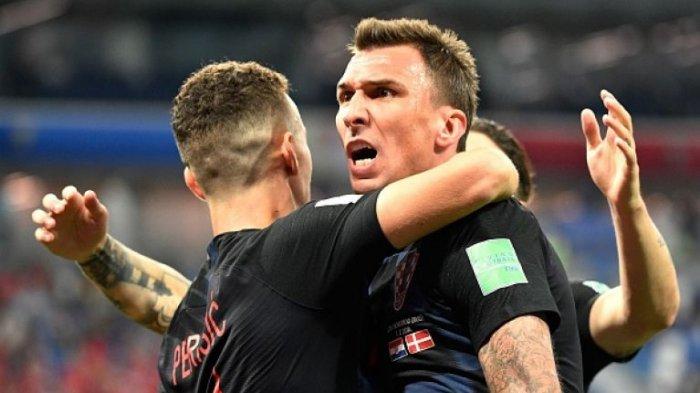Hasil Akhir Inggris vs Kroasia Semifinal Piala Dunia 2018, Perisic Cs Tantang Prancis