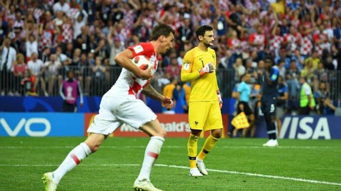 Prancis vs Kroasia di Final Piala Dunia 2018, Skor 4-2