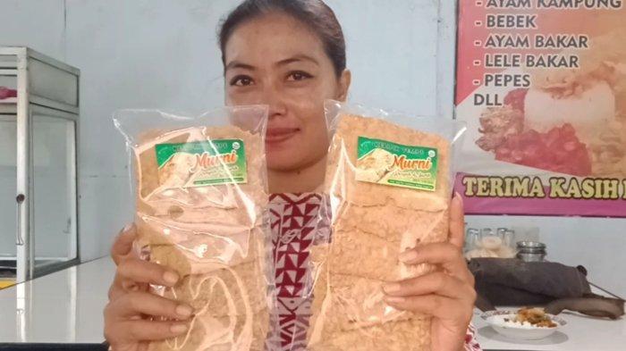Manfaatkan Tempe Tak Terjual, Pelaku UMKM di Tanggamus Justru Rutin Produksi Keripik Tempe