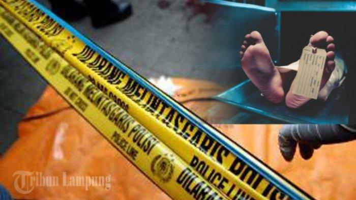 Bapak-Anak di Lampung Ditemukan Tak Bernyawa, Bocah 5 Tahun Tewas dengan Mulut Berbusa