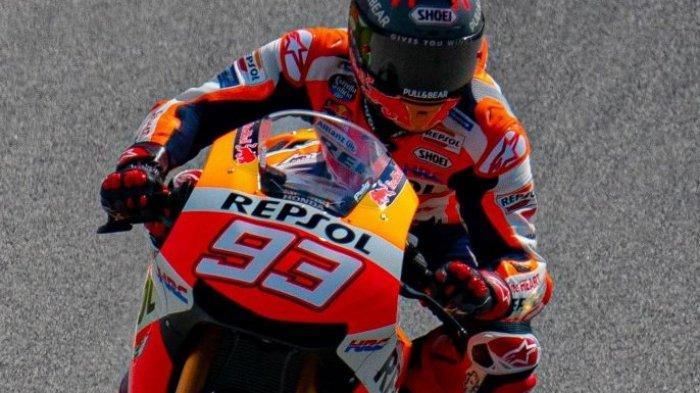 Hasil MotoGP Portugal 2021, Marc Marquez Menangis