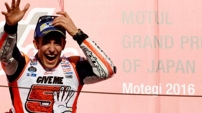 Lima  Momen Istimewa  MotoGP 2016