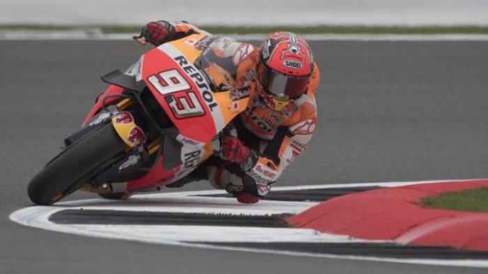 Marc Marquez Kecelakaan Saat Uji Coba di Jerez