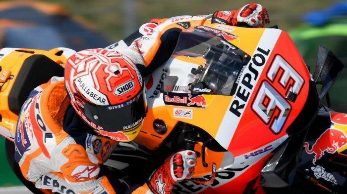 Jadwal MotoGP 2021, Marc Marquez Berhasil Beri Kejutan pada Sesi Latihan Bebas GP Portugal