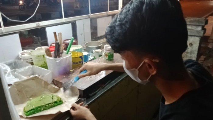 Kuliner Lampung, Ada Martabak Pandan di Kota Agung Tanggamus