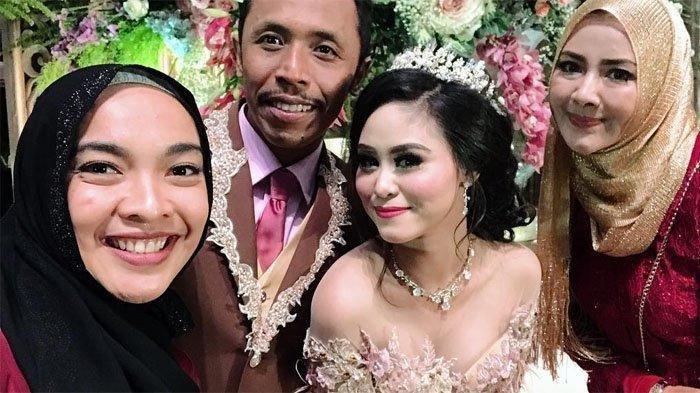 Mas Pur Nikahi Dwinda Ratna, Keluarga Tukang Ojek Pengkolan 'Serbu' Acara Resepsi Pernikahan