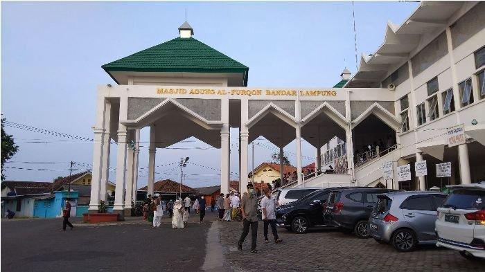 Pemkot Bandar Lampung Akan Lengkapi Masjid Al Furqon dengan Taman Terbuka Hijau