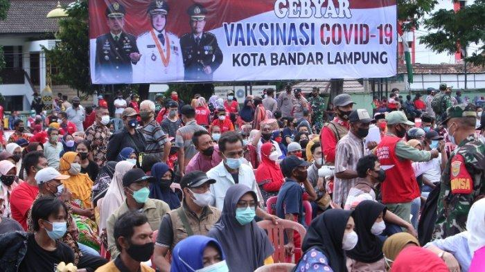Masyarakat Sambut Baik Program Gebyar Vaksinasi Covid-19 Bandar Lampung