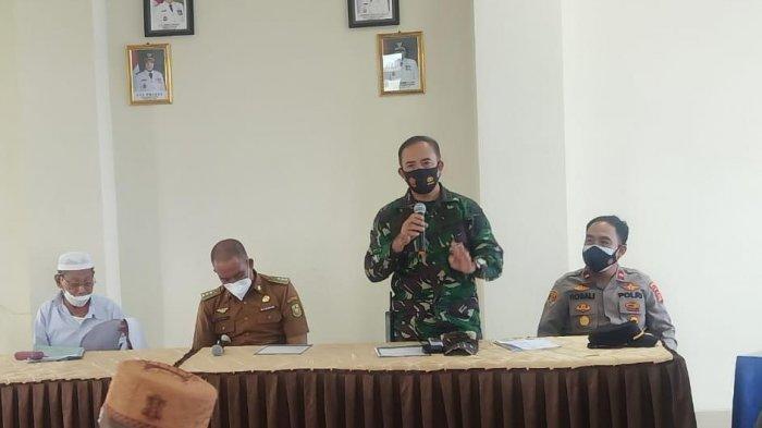 Mayor Inf Sutoto Hadiri Rakor Forkopimcam Tanjung Senang