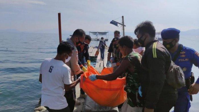 Mayat Anonim Ditemukan Mengapung di Perairan Laut Mutun, Pesawaran