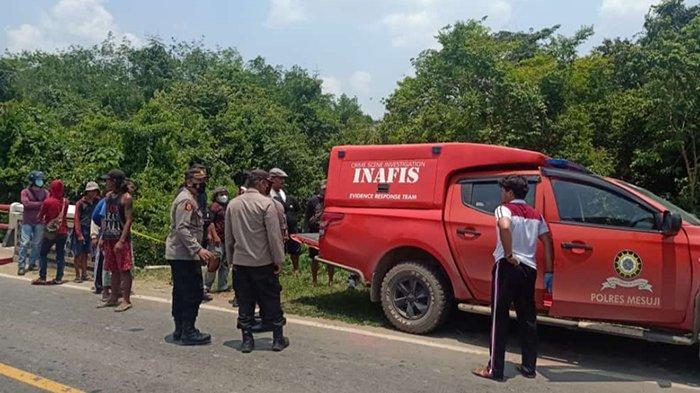 Mayat Laki-laki Ditemukan di Jembatan Kali Buaya Mesuji Lampung