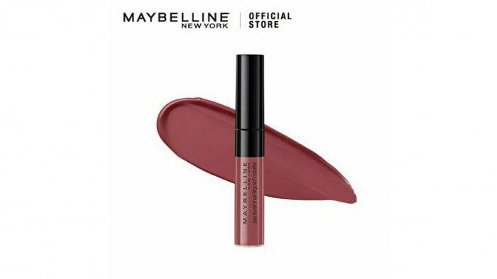 Ilustrasi. Simak harga Maybelline Color Sensational Liquid Lipstick di dalam promo Shopee 2021