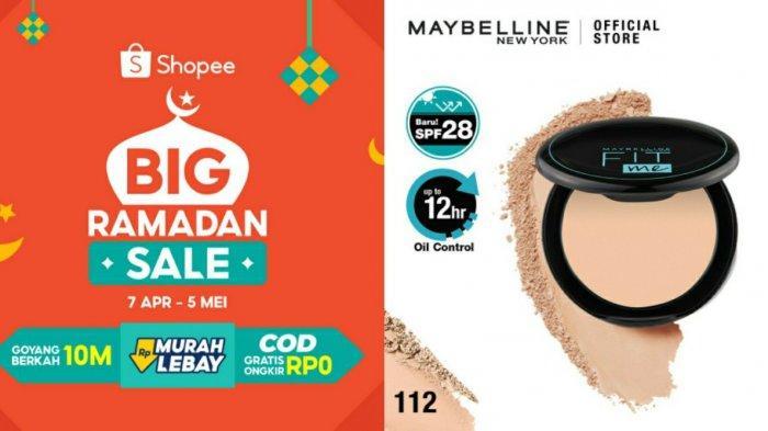 Harga Maybelline Fit Me 12 Hour Oil Control Powder, Simak Promo Shopee 2021