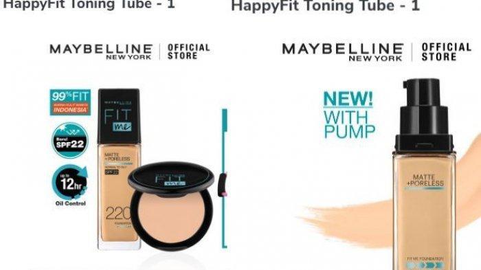 Maybelline X HappyFit Toning Tube