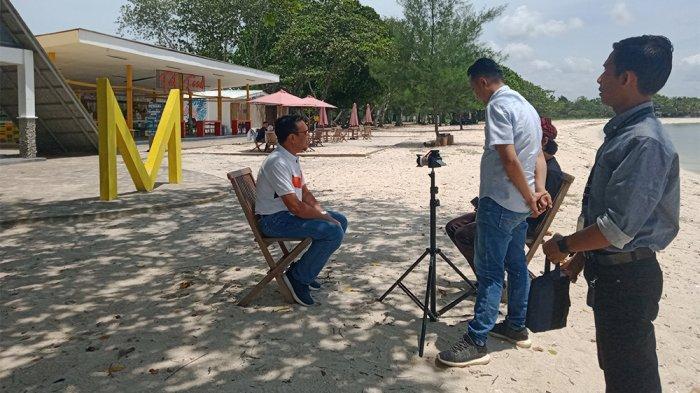 M BEACH Masuk Tv, Program Khusus Wisata dan Pariwisata di Lampung
